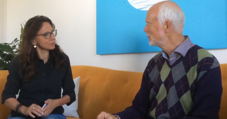Dagmar Heib interviewt Helmuth Koch