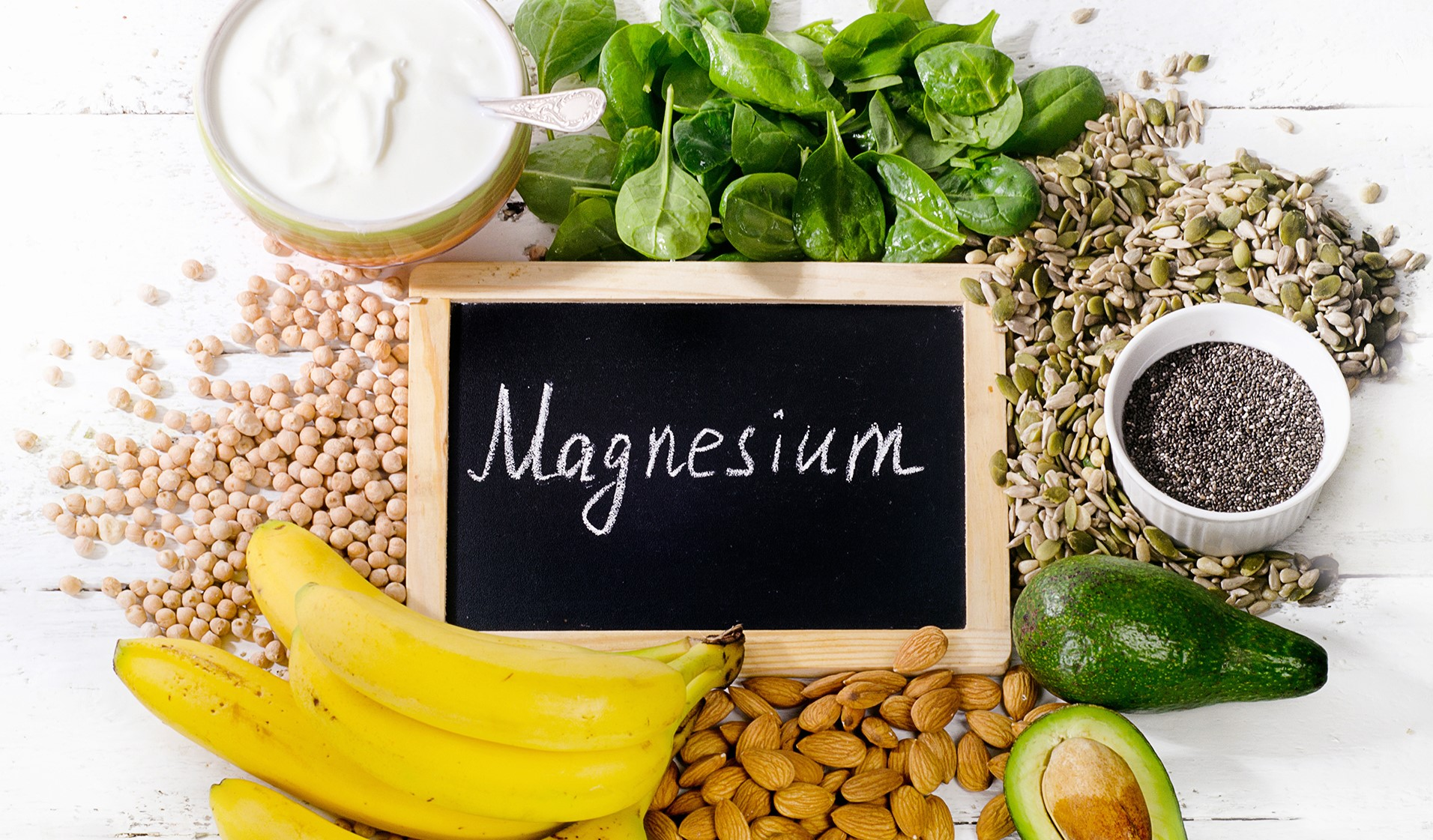Lebensmittel die Magnesium enthalten